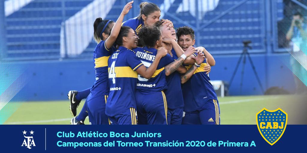 #SuperFinalSuperClásica 🏆 La campaña de Boca, campeón del Torneo Transición 2020 de Fútbol Femenino  📝