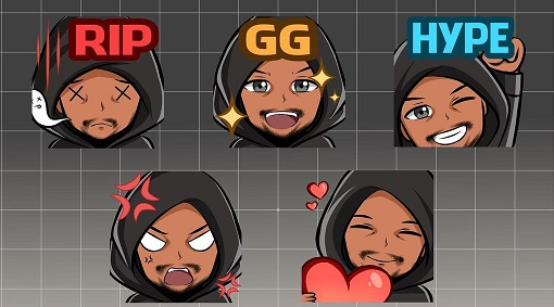 Are you affiliated and looking for your next emote? Shoot me dm! #GFX #GFXDesigner #emoteartist #emote #twitch #SmallStreamersConnect #SupportSmallStreams #SupportSmallStreamers #twitchStreamers #artistsontwitter #twitchemotes #twitchaffiliate #twitchstreamer #twitchstreaming
