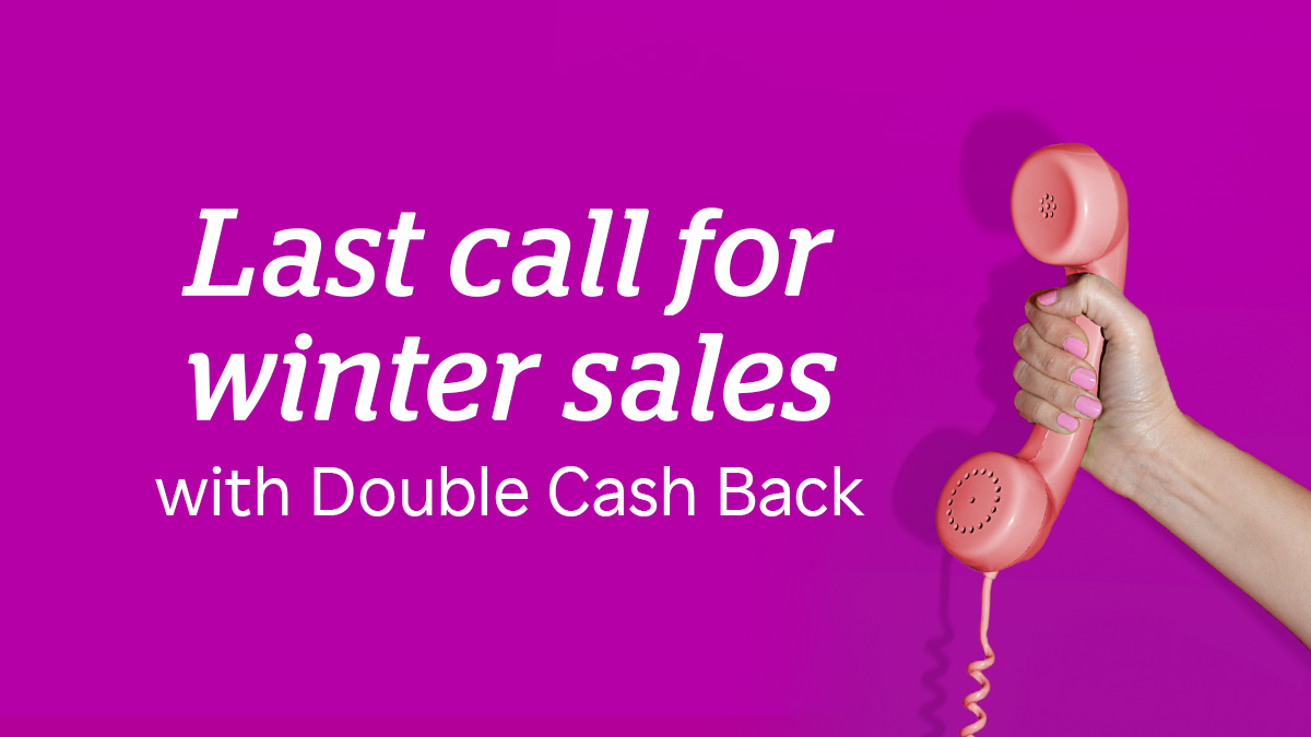 Double Cash Back is calling 📞