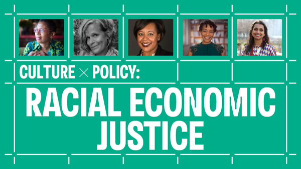 Thursday night: Walis Johnson, Betsy MacLean, Kriston Alford McIntosh, Barika X. Williams (@barikaXw), and moderator Prerana Reddy discuss economic solutions for a more just society. Presented in conjunction with our #HowardenaPindell exhibition. RSVP: