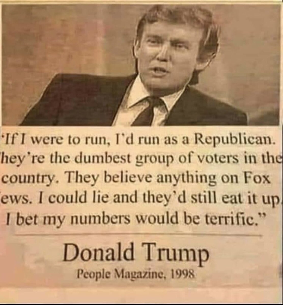Here's a reminder to all you tRump #Republicans. #BeGone #ByeByeTrump