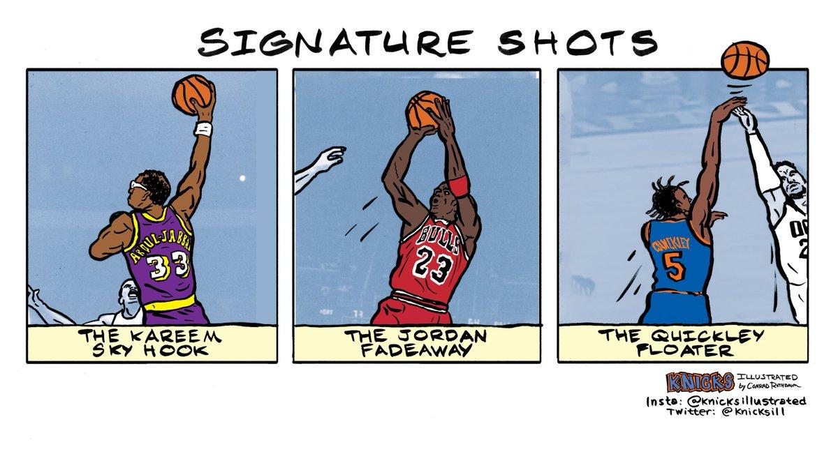 009 - Signature Shots #knicks https://t.co/wKrafkR6L7