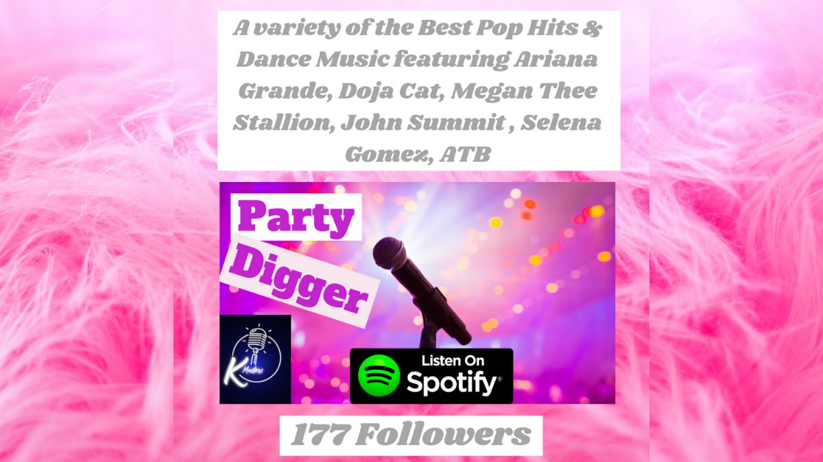Tune in 🎧 for a variety of the Best Pop Hits & Dance Music featuring #ArianaGrande #DojaCat #megantheestallion #JohnSummit #SelenaGomez #ATB on #SpotifyPlaylist #PartyDigger ➡️   #popmusic #Trance #djmixes #housemusic #electronicmusic #SpotifyCharts