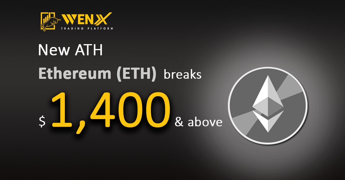 ETH 🔥 just hit a new all time high on #WenX !!! 🚀🚀🚀  Discover how to get started today⬇️   #ETH #ETHEREUM #ethnews #ethchart #cryptotraders #cryptonews #tradingview #ethprice #CryptoNews #cryptocurrency #traders #tesla #trend #stoploss #stoplimit