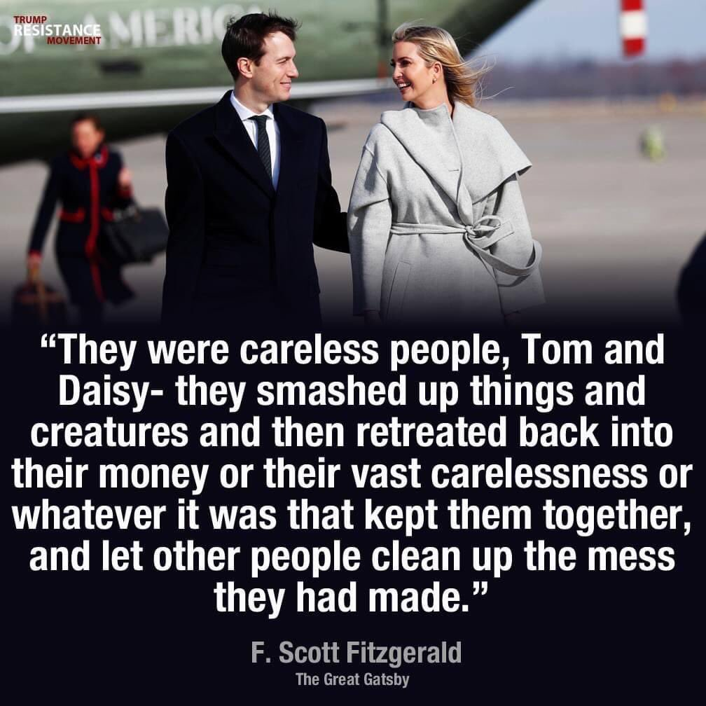 And it was only the worst of times for the rest of us. #ByeByeJavanka #TrumpsLastDay #ByeByeTrump