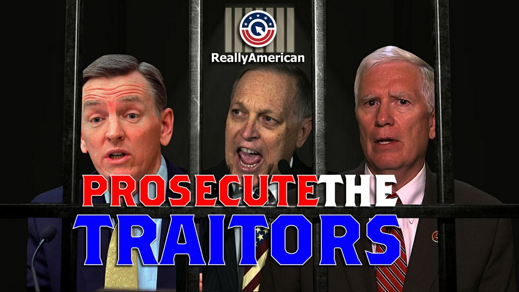 Replying to @Eleven_Films: We couldn't agree more!   #ProsecuteTheTraitors   New from @ReallyAmerican1 🇺🇸