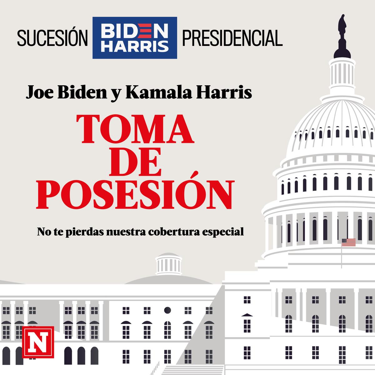 #ByeByeTrump I Acompáñanos en la cobertura especial de la toma de posesión del presidente electo @JoeBiden  este miércoles 20 de enero.