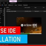 Image for the Tweet beginning: 📢 Install Eclipse IDE!  Eclipse is