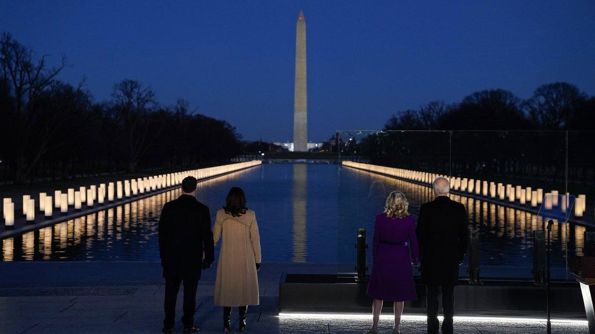 #Inauguration2021 #PresidentElectJoeBiden #VicePresidentElectKamalaHarris #COVIDMemorial