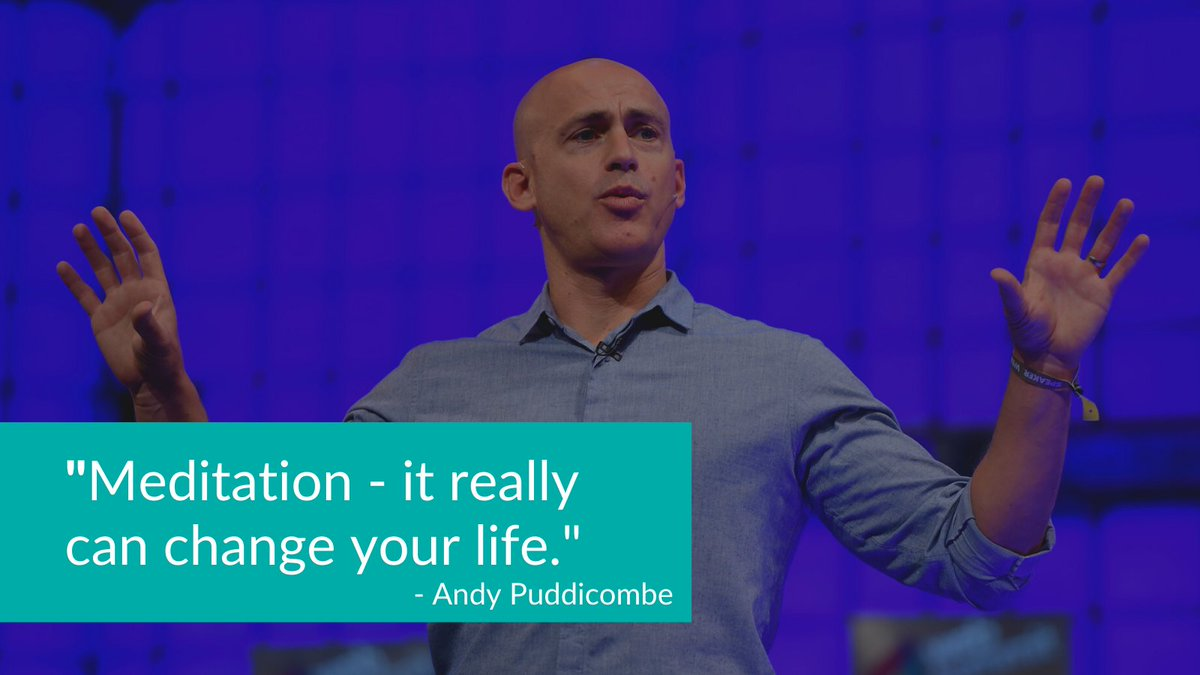 At #WebSummit 2014, the co-founder of meditation app @Headspace,Andy Puddicombe, spoke on Centre Stage about the benefits of meditation and his journey to founding Headspace ☁️  Give it a listen 👉  #TheNextStage