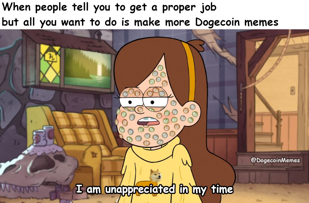 #Dogecoin #memes #crypto #cryptocurrency #doge #tothemoon #wow #moonsoon #dogecoinmoon #thegoodstuff #muchfunny #suchmemes #happydoge #moon #beautiful #gravityfalls #art #unappreciated #mabelpines #meta