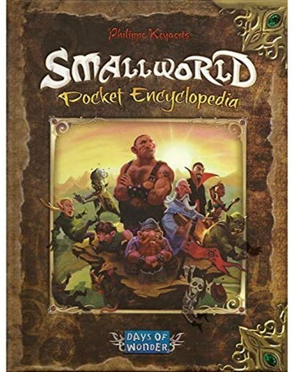 Small World: Pocket Encyclopedia, companion book and FAQ for the board game, for $4.33.  MSRP is $14.99.  #ad