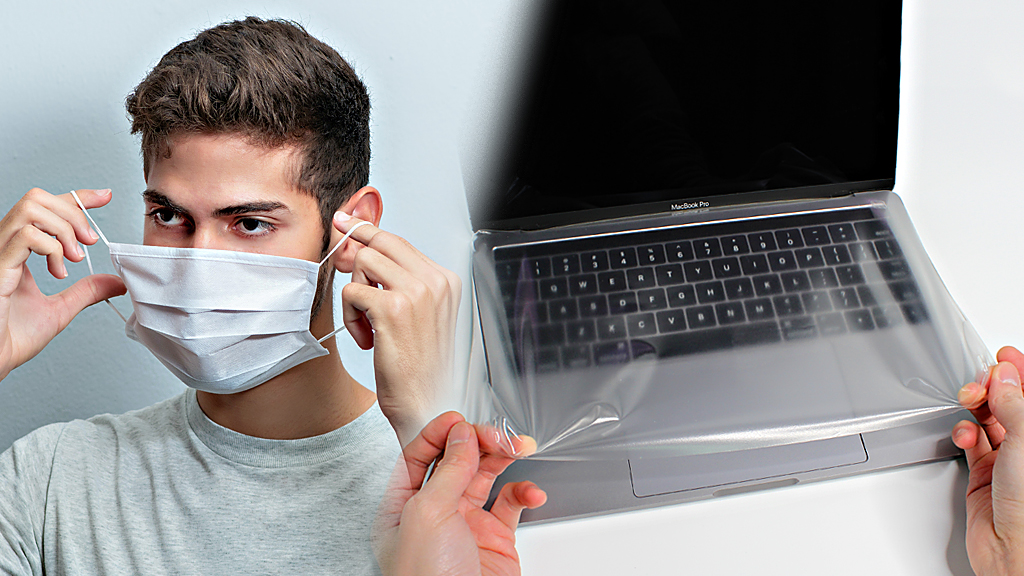 @WebMD Wearing a face mask is indeed an ideal way against droplet infection while the contagious infection is another big issue! Please put on a keyboard cover for your high-touch keyboard surface and disinfect it.  😷   #CDC #StopTheSpread #COVID19