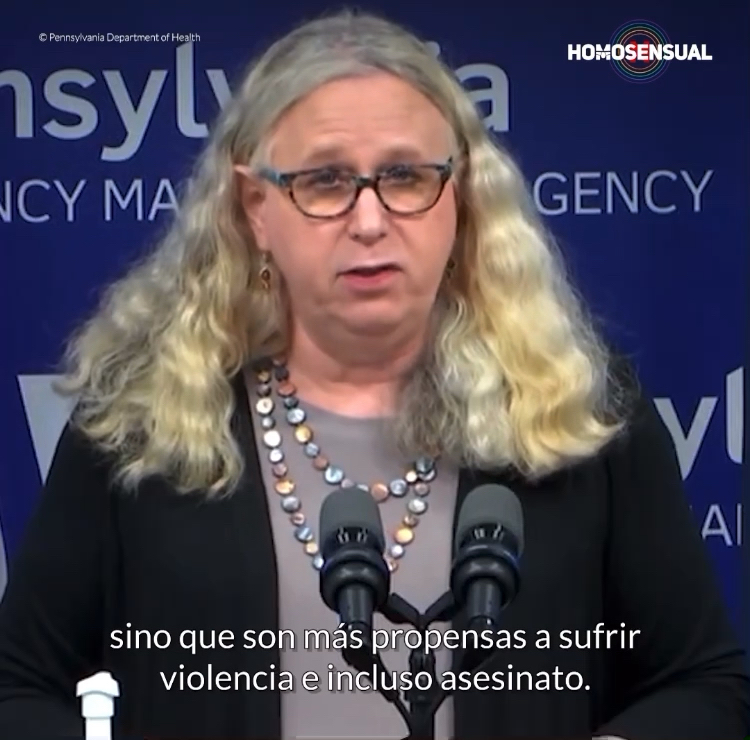 Biden nombró a Rachel Levine, mujer trans, subsecretaria de Salud. Ella es, justamente, la calidad de ser humano que necesitamos en el mundo. 🌎🏳️⚧️
