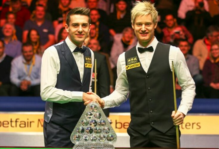#OnThisDay 2013 Mark Selby won his third Masters title  after beating defending Champion Neil Robertson 10 - 6 in the Final.  #snooker #Masters @markjesterselby  #memories