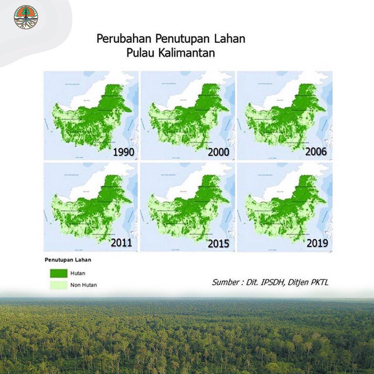 Halo #SobatHijau, kondisi dan dinamika penutupan hutan (lahan) di Indonesia selalu dipantau oleh #KLHK dengan menggunakan #SIMONTANA (Sistem Monitoring Hutan Nasional/NFMS). Sebuah sistem berbasis penginderaan jauh dan terestris untuk menyajikan data dan informasi spasial.