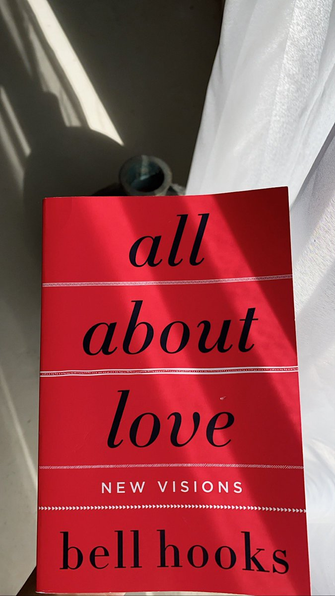 All about love by Bell Hooks Not everything in this book resonated with me. She did talk about love that's healing and it can come in many forms but love and abuse can't exist at the same time.