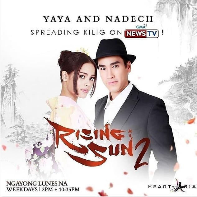 #Repost @agatheeyy  5 Days To Go! We will get to know more about Ryu and Mayumi's Love story ❤❤❤ Reposted from @cheoberu Yass..So looking forward to this. New season of #RisingSun is coming your way starting on Jan25. Aring weekdays @2:00pm w/ replays @10:35pm on GNTV