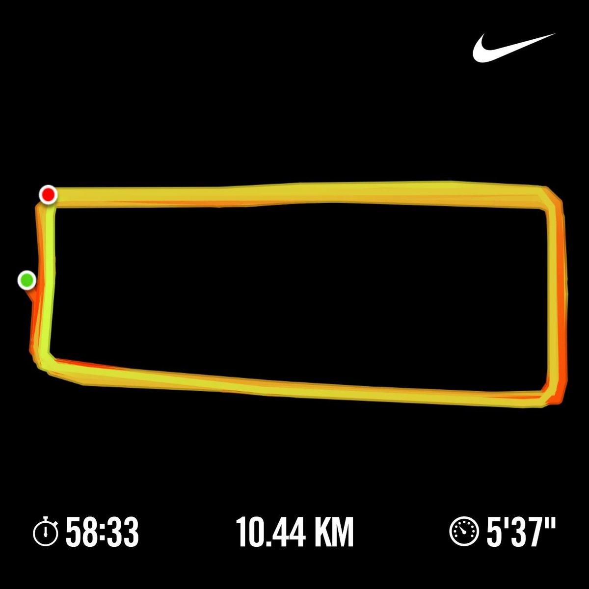 10.44km  Another day another run  CNN shey we will rest after today abi?  #nikeplus #fitfam #runner #strava #GoogleFit #itsAmarathon #ItsALifestyle #IamAccountable #yourturn   ✅👌🇳🇬🔥💪🏃♂️✌