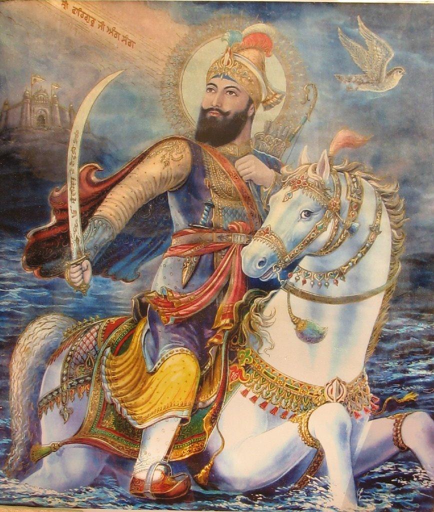 """""""चिड़ियों से मैं बाज लडाऊं , गीदड़ों को मैं शेर बनाऊ।  सवा लाख से एक लडाऊं तभी गोबिंद सिंह नाम कहांऊँ !""""  श्री गुरु गोविंद सिंह जी की जन्म जयंती पर उन्हें श्रद्धापूर्वक नमन!  - @BansuriSwaraj @SushmaSwaraj @governorswaraj   #गुरु_गोविंद_सिंह_जयंती #gurugobindsinghjayanti"""