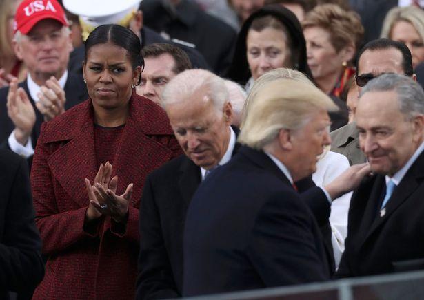 We really love @MichelleObama The look that needn't be  interpreted 😳 #BidenHarrisInauguration #Trump #JoeBiden #DonaldTrump #ByeDon #depression #Instagram #MichelleObama #insurrection #democracy #Democrats #Repost
