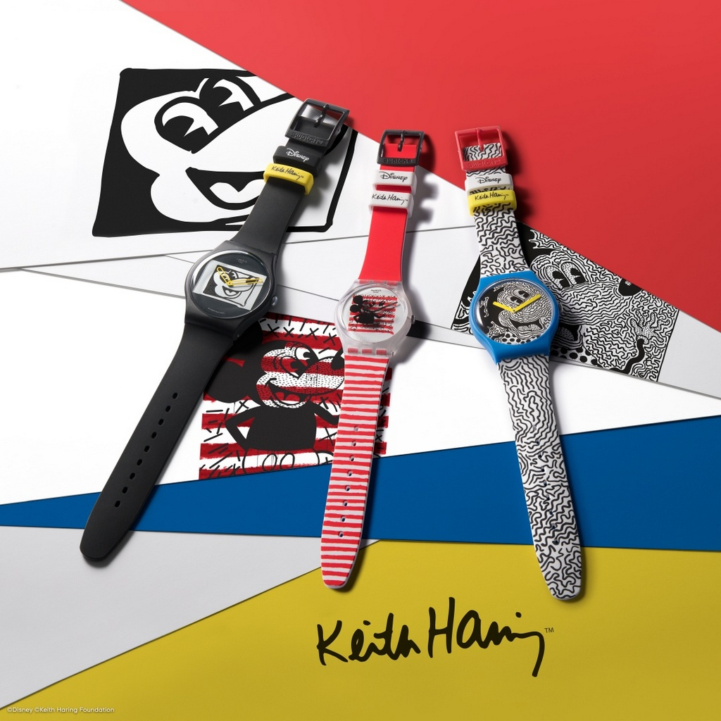 SWATCH DISNEY MICKEY MOUSE x KEITH HARING    #montre #montres #watch #watches #watchoftheday #montredujour #watchaddict #dailywatch #horology #horlogerie #wristgame #timepiece #style #watchfam #watchcollector #montresettendance #swatch #Disney #MickeyMouse