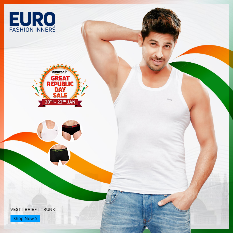 #GreatRepublicDaySale has started. Shop @amazonIN :  Also @Flipkart :  #sale #RepublicDaySale #vest #brief #trunk #trunks #underwear #men #mensfashion #menswear #follow #mensunderwear #StartSomethingSexy #fashion #fashionstyle