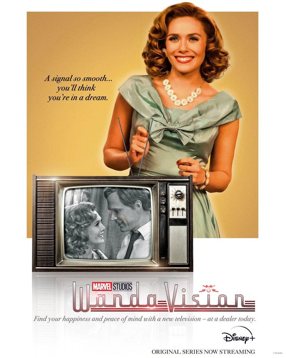El capítulo 2 es buenísimo @wandavision y #ElizabethOlsen #Wanda es preciosa en #blackandwhite ❤ 📺   #recomendaciones @disneyplus #WandaVision