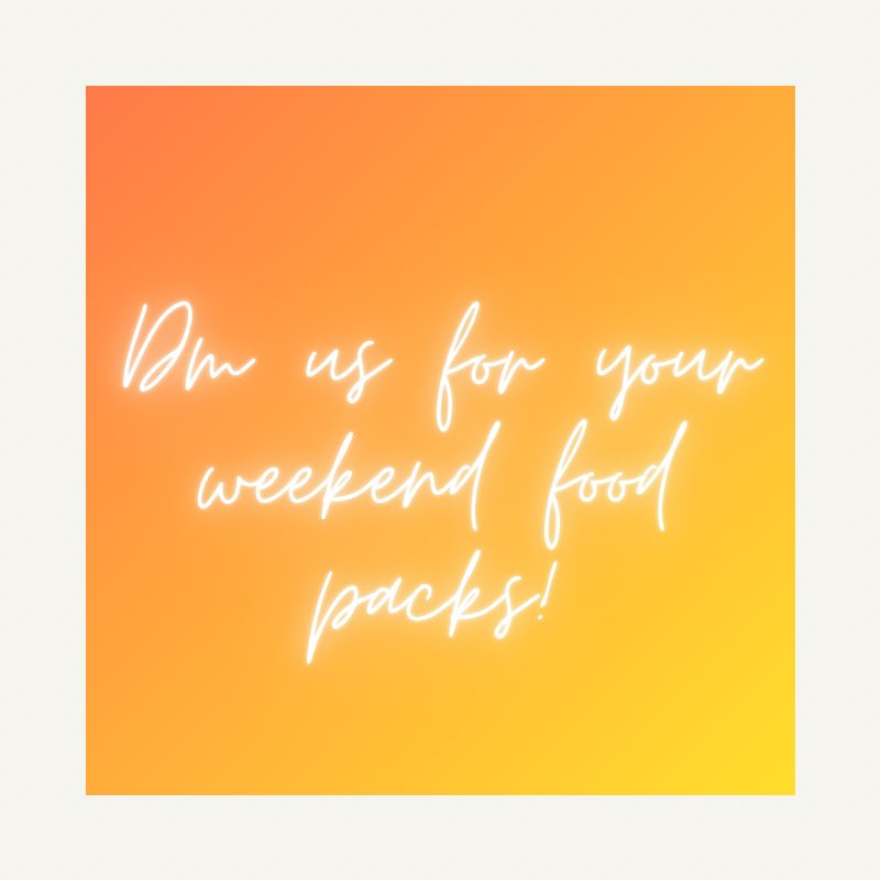 Need food packs this weekend?   Dm us for tasty meals! And yes, we do events too.   -  #foodinlagos #food #catering #cateringinlagos #lagos