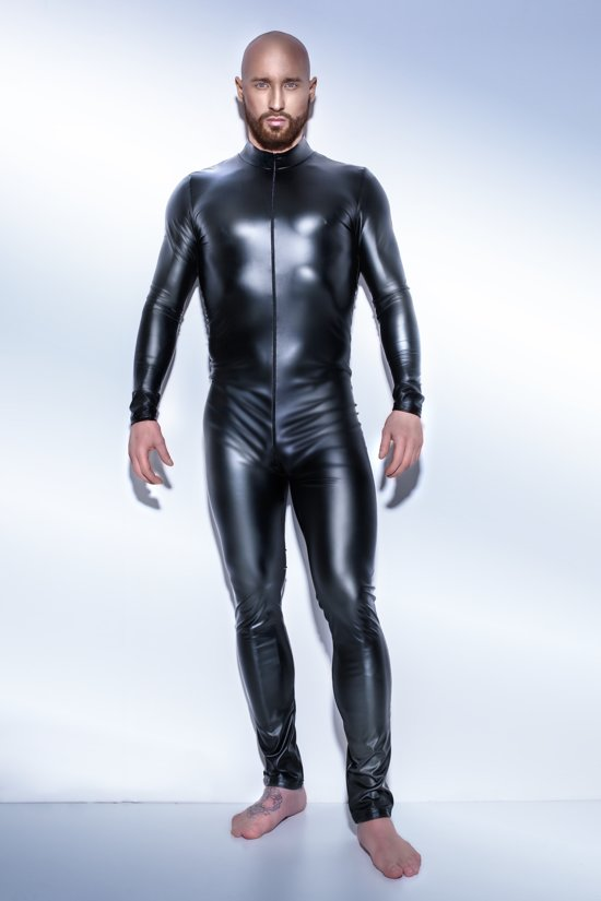 Wetlook catsuit bestel je online bij    #wetlook #wetlookcatsuit #wetlookkleding #catsuit #catsuits #overall #playsuit #netstof #sexy #party #secretparty #feestje #sexfeest