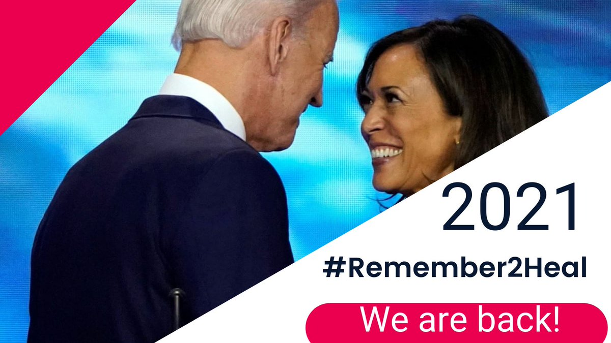#Remember2Heal ! Let's make this hashtag #trending ! #Inauguration2021  #46thPresident  #Covid19  #RepublicansDontCare