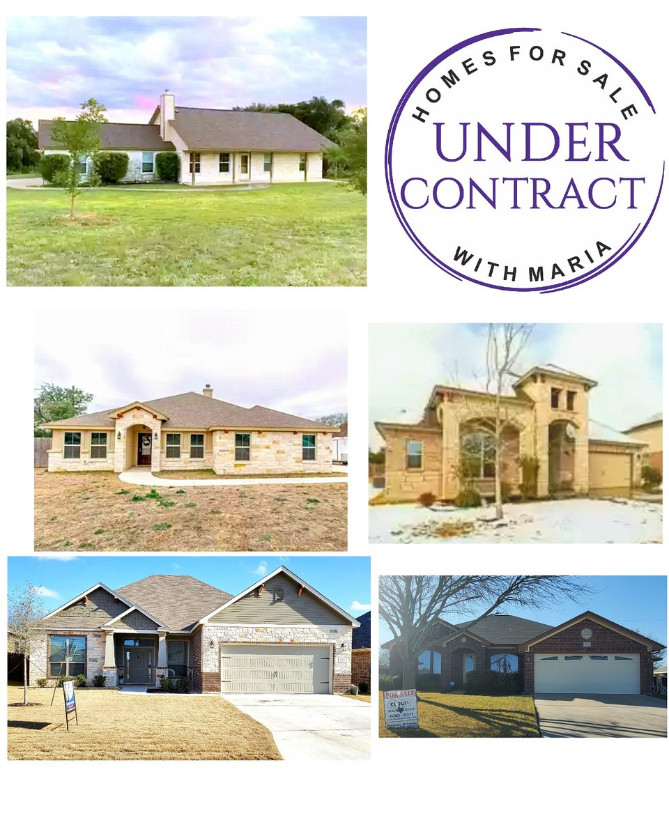 5 Under Contract this weekend! I'm in desperate need of your listing! Buyers are fighting for homes. It's a Sellers Market and I was thankful to win out on a few multiple offers. Call me for a market analysis on your home. 254-563-9058 #UnderContract #centraltexasrealestate #home