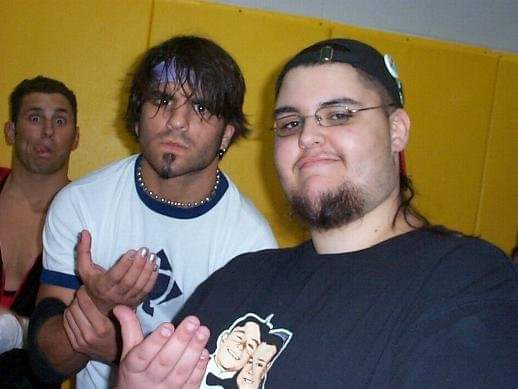 #PhotoOfTheDay  August 2004 with @JimmyJacobsX (and @ColtCabana!)