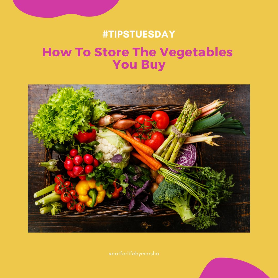 #tipstuesday How To Store The Vegetables You Buy 😊 It important to retain as much #nutrients as possible.  #glutenfree #dairyfree #nutritious #tuesdaytips #eathealthy #vegetablesforhealth  #healthy #organic #vegetarian