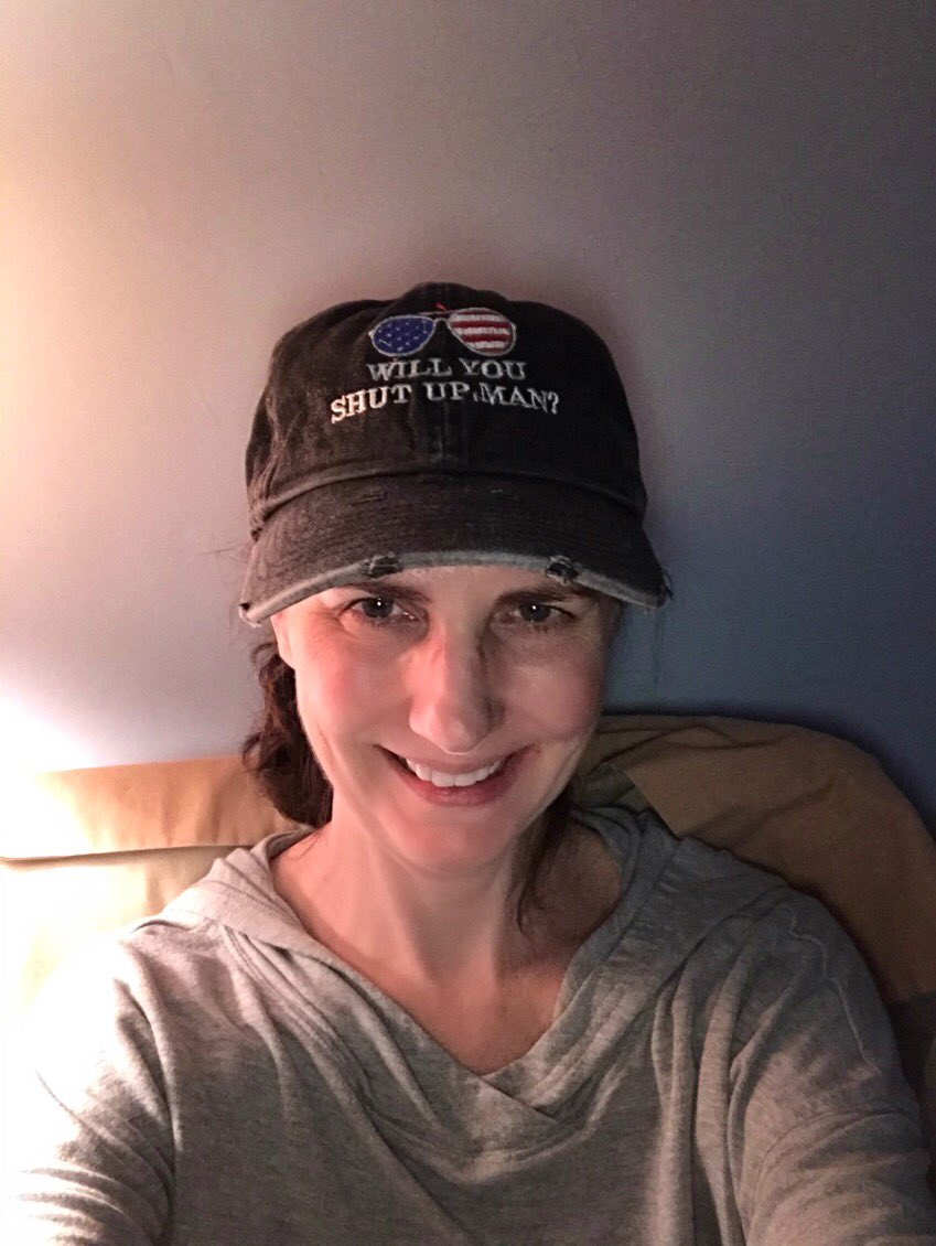 Thanks to all my Twitter friends for the birthday/get well wishes!Made my day! I am so blessed that you all care. I may not get to see all of the messages...there's just so many! Hopefully I won't be so sick 1/19 next year. By the way, how do you like my hat? Biden/Harris 2020!🧢