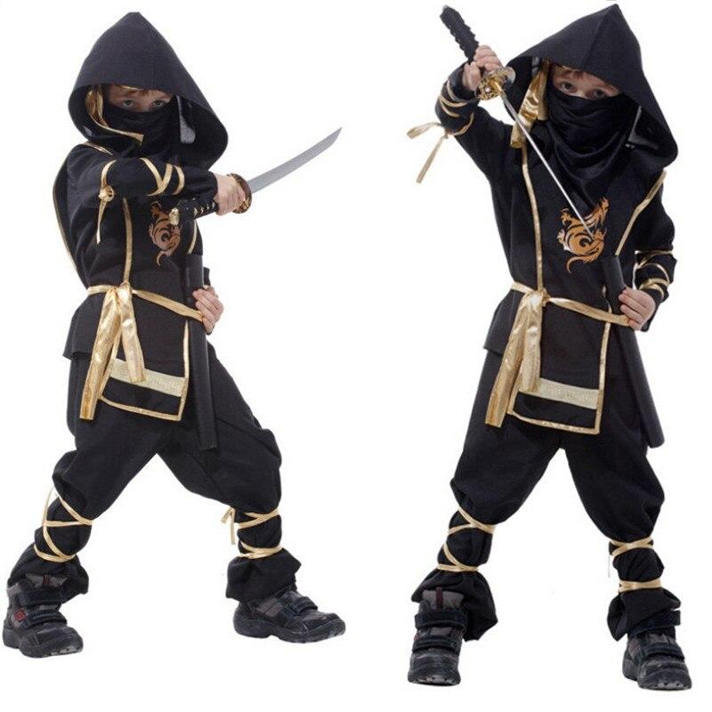 #love #friends Boy's Ninja Halloween Costume Set
