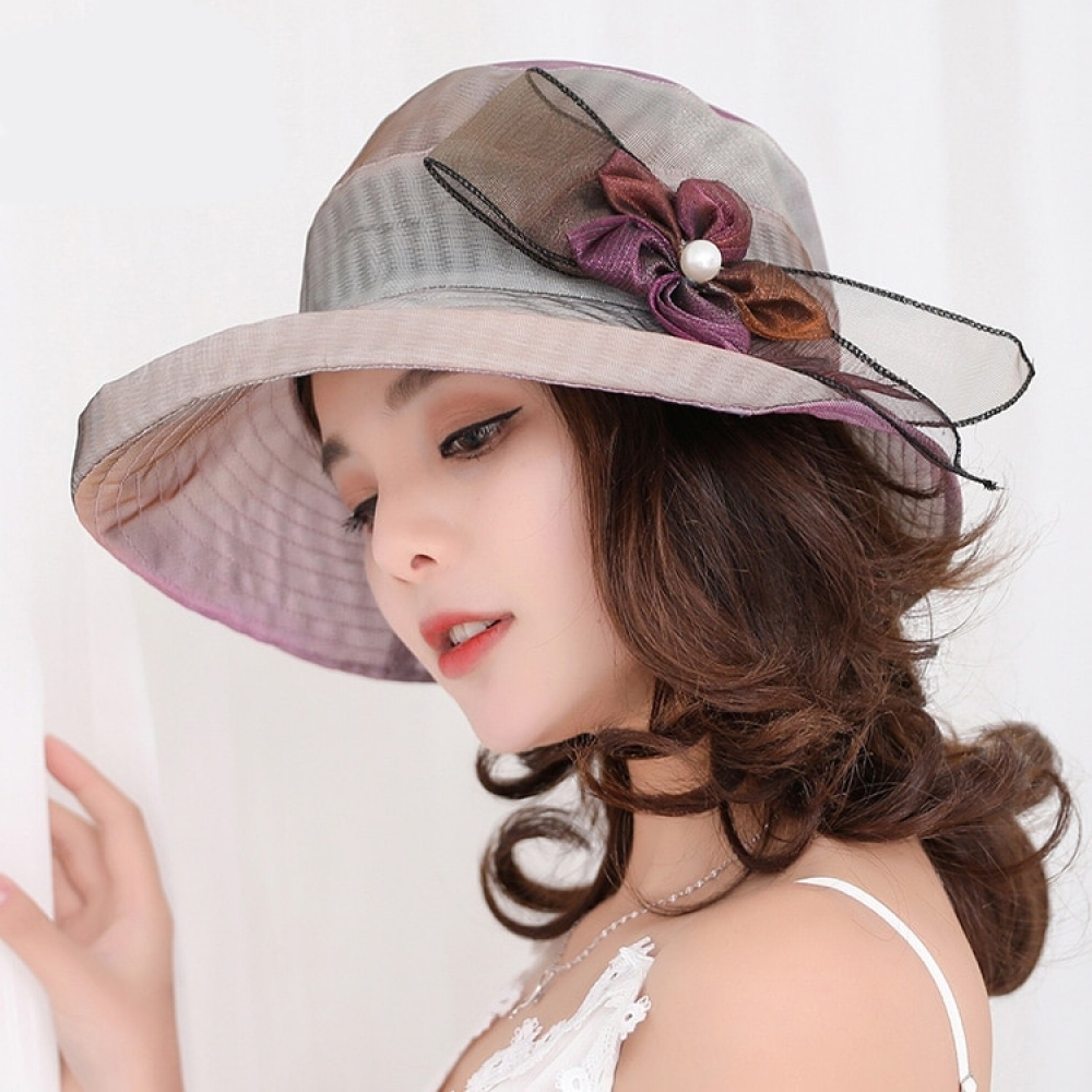 free shipping Fashion for women big brim summer caps sunshade sun Protection hats Ladies Beach Headwear With Big Flower  #fashion|#tech|#home|#lifestyle