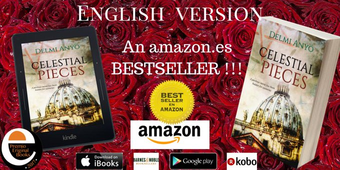 CELESTIAL PIECES: A perilous secret has been hidden for centuries #NEW English version an  #bestseller web==   @amazon      @Apple