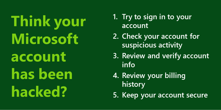 So you think your Xbox account's been hacked? Check these 5 things.