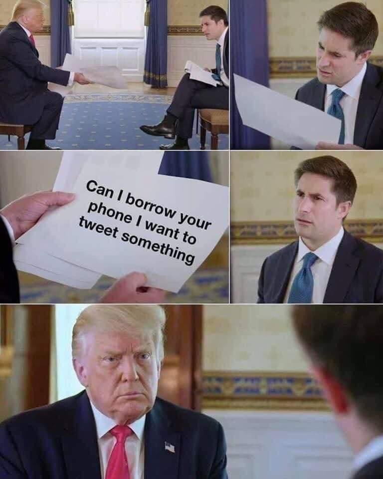 Kinda feels good not seeing #velveetavoldemort and his tweets all over here. #ImpeachedAgain #twitterban #ByeByeTrump