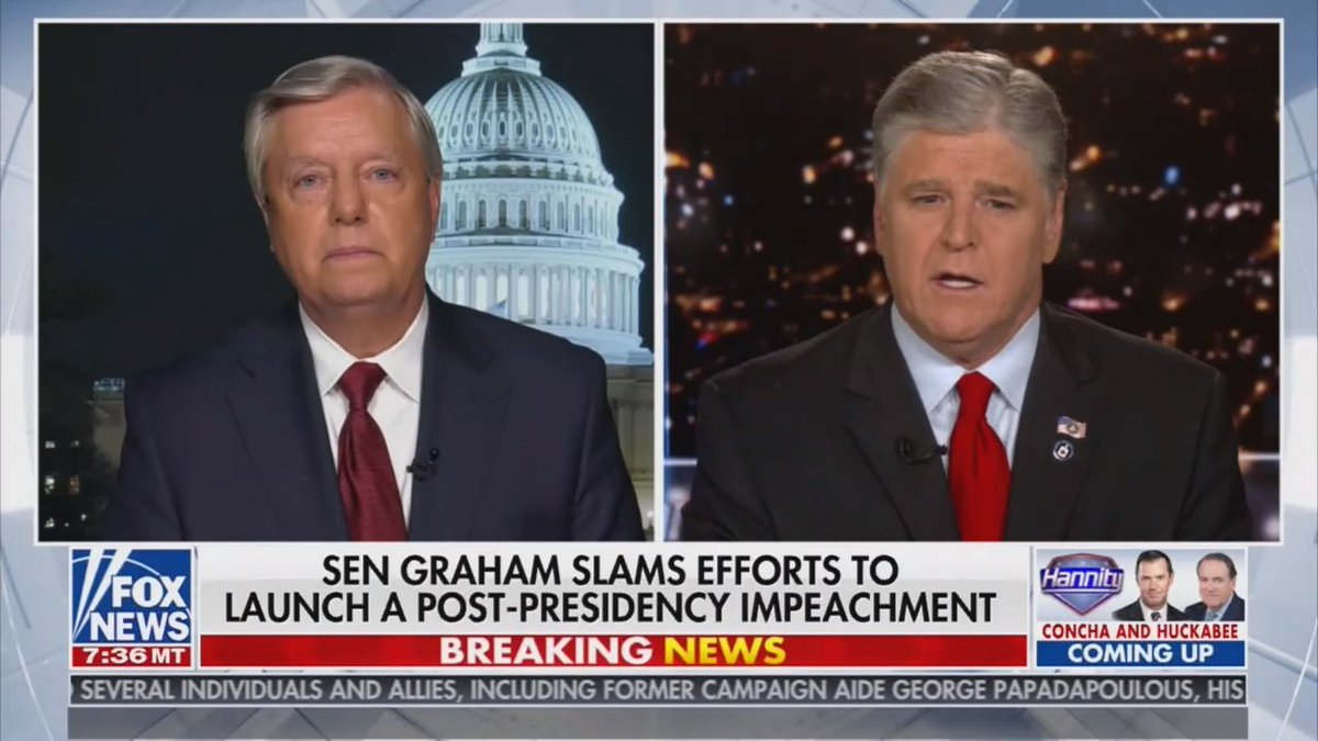 Lindsey Graham is hoping QAnon lunatics won't scream at him next time he's at the airport