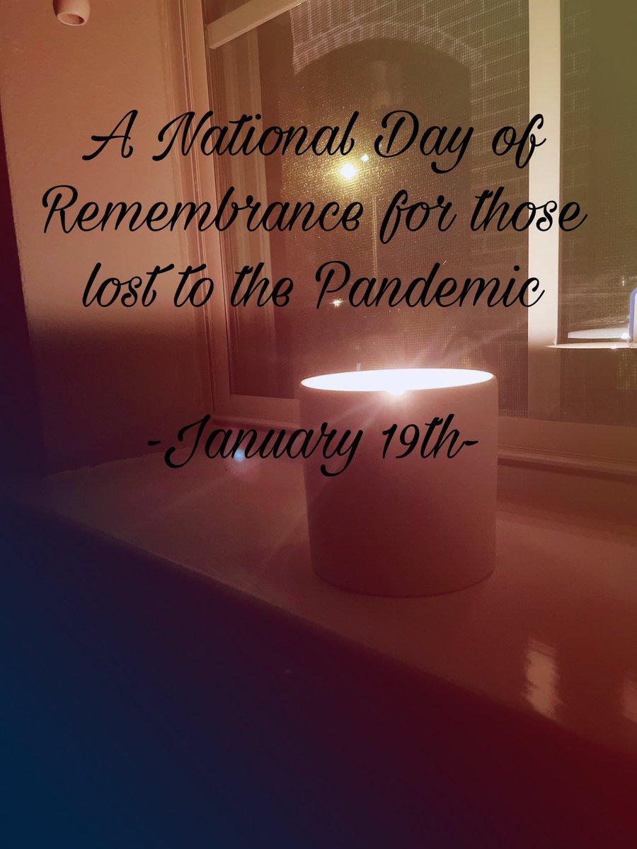 #Remembering #COVIDMemorial #COVID #BidenHarrisInauguration #Lost