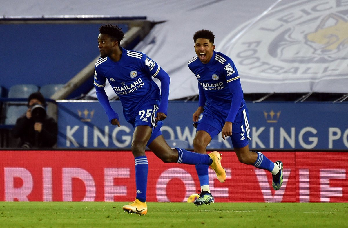 Leicester City defeated Chelsea at King Power Stadium to move to the top of the Premier League table.  Wilfred Ndidi & James Maddison were on target as the Foxes edged Lampard's Chelsea 2-0 on Tuesday night to move to the top of the #PL log.