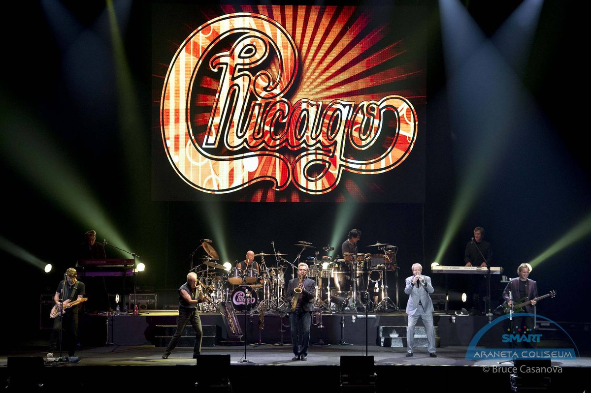 5 years ago today since @chicagotheband visited Manila 😢 Do you miss them?   #ConcertAnniversary #Chicago #ChicagoAtAraneta #TheBigDome