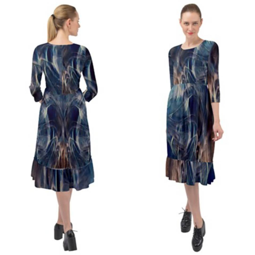 Pilot Light Ruffle End Midi Chiffon Dress | CowCow https://t.co/mqrKqm0rgL Follow my product page on Instagram @MRNStudiosPOD for updates on new designs and merch. #MRN #MRNStudios #cowcow #clothesaddict #art #artwork #design #fashion #style #dress #onlineshopping #smallbusiness https://t.co/pAWvl4Uu98
