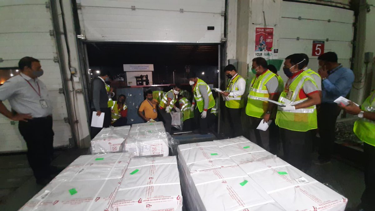 First consignment takes off for Bhutan!  India begins supply of Covid vaccines to its neighbouring and key partner countries.   #VaccineMaitri #NeighbourhoodFirst