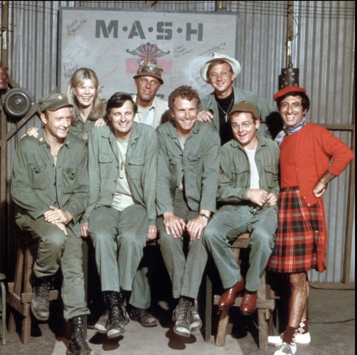 Never Be Afraid to Stand Out.    #MASH #Television #TV #KoreanWar #Friends #Family https://t.co/xOyXNCpsv5