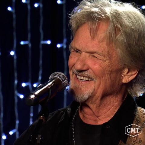 """Tune in to the #CMT premiere of """"Skyville Live: Kris Kristofferson & Friends"""" NOW!"""