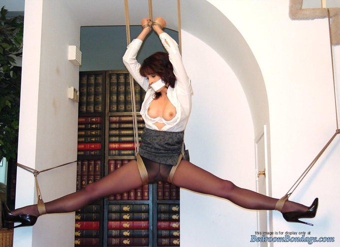 """We just made another sale of """"Swingin' Secretary: Karina Santos""""!  Suspension set (also includes outtakes/behind"""