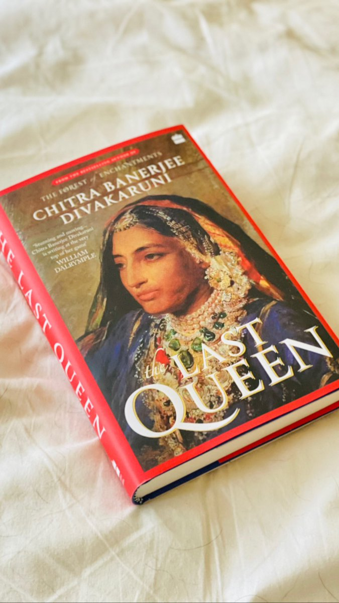 New Books ~ Publication day for @cdivakaruni The Last Queen. Jindan Kaur comes alive in this epic tale. From the bestselling author of The Forest of Enchantments
